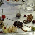 Declinaison de foie gras... à tomber