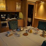 Coach House suite set for breakfast