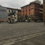Piazza one block from Residence Hilda different view