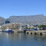Hotel with Table Mountain in the background
