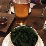 Wilted Kale and Fine Local Beer