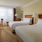 Our Deluxe Double/Double Guestroom is spacious and comfortable