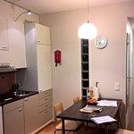 Kuva olohuone keittiönurkkaus