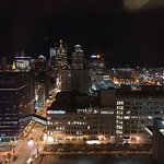 Nighttime view of Milwaukee from the 24th floor