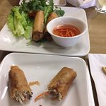 Eggrolls- OK- wish you got 2 large ones instead of 4 small ones.