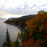 Saguenay River, view from the room