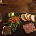 A great terrine, fresh and well presented.