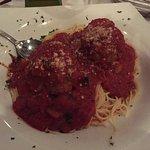 Spaghettini Meatballs