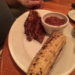 Tri-tip and corn