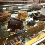 Food displayed like art