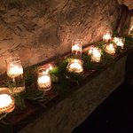 Candles for ambiance