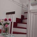 Escaleras al dormitorio