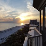 Sunset on PCB from our condo