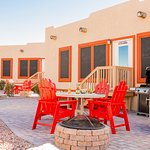 Deluxe Cabins with a fun Southwestern Casita feel