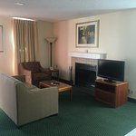 Standard Living Room area for our suites (not all have fireplaces)