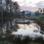 Short walk to dam for fishing or platypus watching