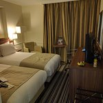 Twin bed room which I was advised was one of their recently refurbished rooms.