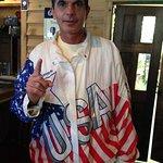 Larry Bird's Olympic Jacket