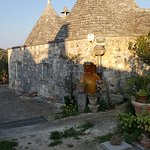 The 500-year-old Trulli home at a nearby olive orchard