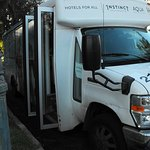Once per hour free shuttle to Ala Moana (stops at some other hotels, too).