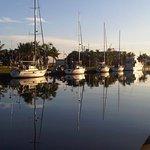 Vista desde los canales de la Marina
