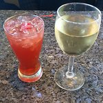 Rum Runner (L) and Riesling