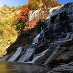 Ithaca Waterfalls Foto