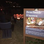 Beachside S'mores - under the stars!