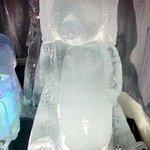 Nonantum Fire & Ice Sculptures, Christmas Prelude