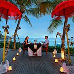 Romantic Dinner at Wooden Deck Ocean Terrace