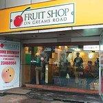 Fruit Shop On Greams Road Foto