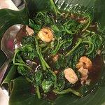 フィリピンの青菜炒め