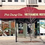 front of & entrance to Pho Dung Gia Vietnamese Restaurant