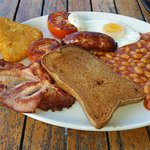 Gluten free English Breakfast at Issacs'