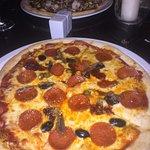 Decent pizza albeit a bit sloppy