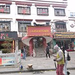 The entrance of Lhasa Kitchen
