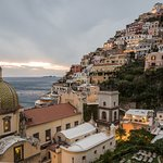 It offers one of the best classic views of Positano.