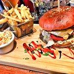 Le Spicy Burger et sa garniture