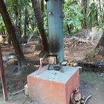 Wood fired water boiler