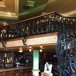 A large pub with a mezzanine floor ..