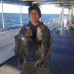Offshore Seabass Cod Ling Trip October 29 2016