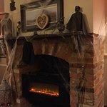 Halloween fireplace, great amotsphere