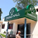Dining Hall serving Veg Thali