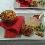 foie gras de canard et sa brioche
