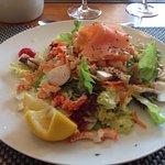 Salade de queues d 'écrevisses