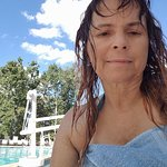 A dip in the pool after a great massage.