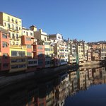 Beautiful Girona a short walk away
