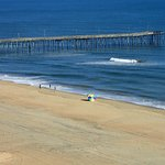 THe VA beach Pier is only a few steps away.