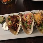 tacos, tuna, fish, shrimp