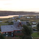 Overlooking Port Rexton at sunrise.